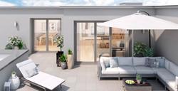 Impressionen Dachterrasse ETW 1.2.3