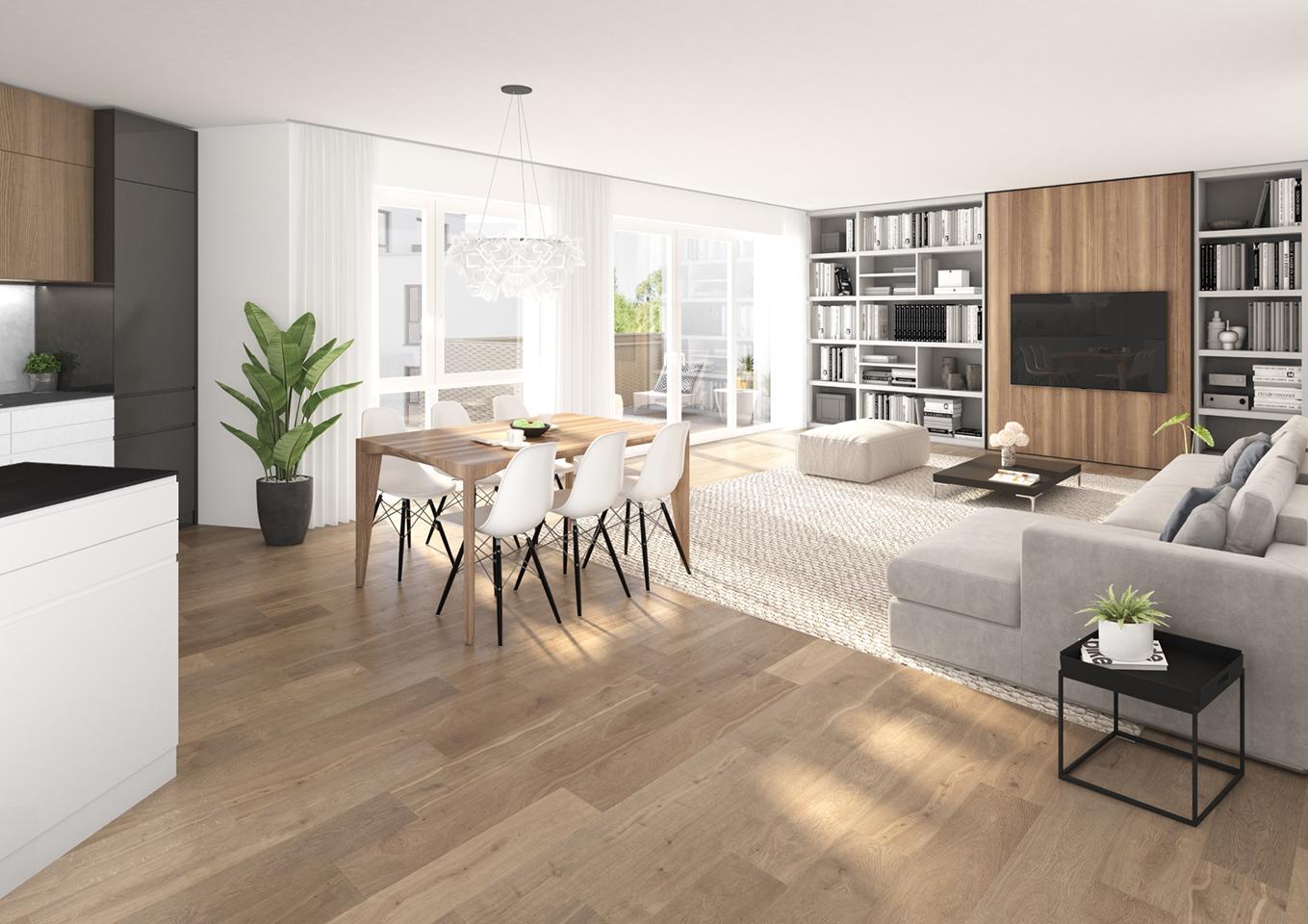 Impressionen Wohnung 2.2.03