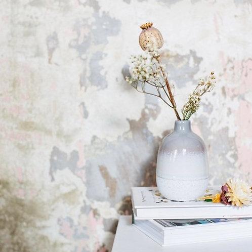 GLAZE grey vase