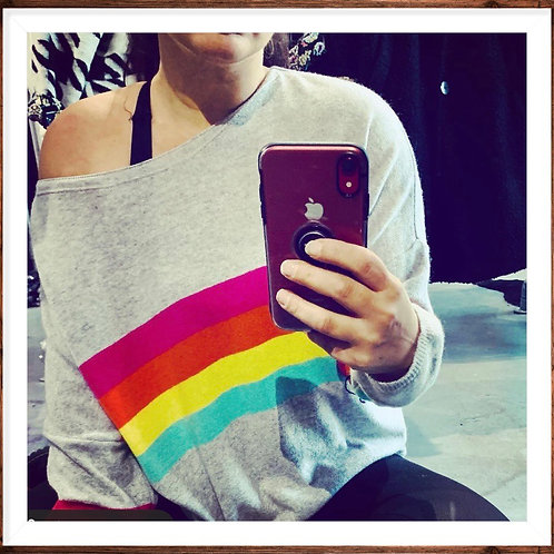 RAINBOWS FOREVER knit