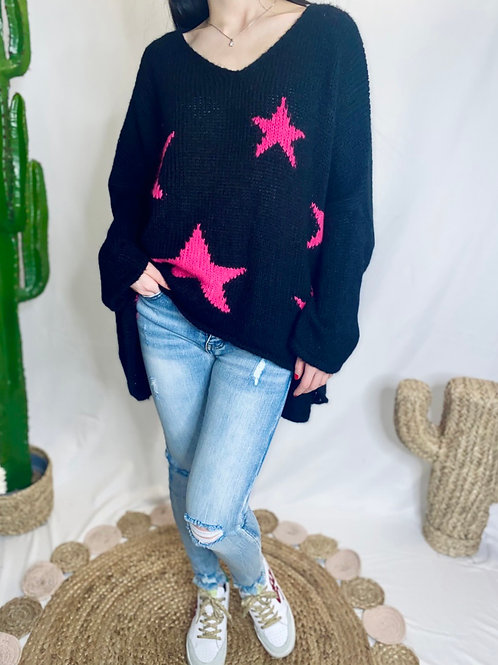 STAR OF THE SHOW knit