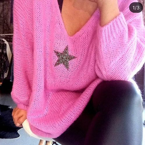 CENTER STAGE knit