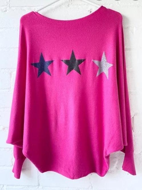 I WANT STARS knit