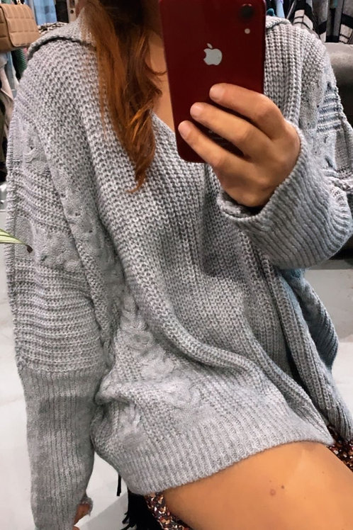 BY THE COLLAR knit
