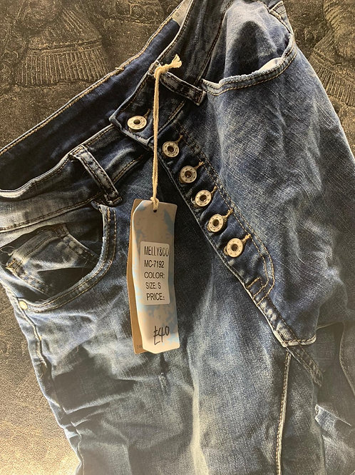 FLATTERY WILL GET YOU EVERYWHERE jeans