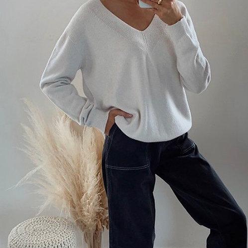IVORY knit
