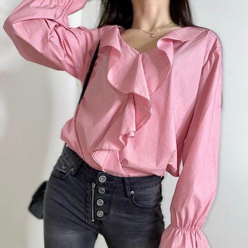 RUFFLES blouse