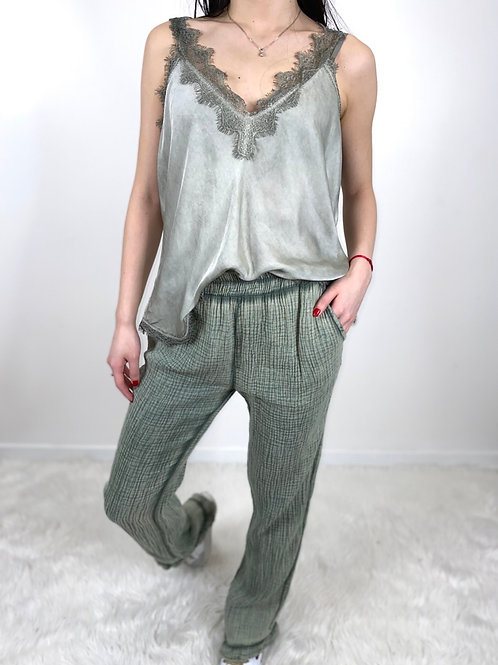 LIGHT AS A FEATHER trousers