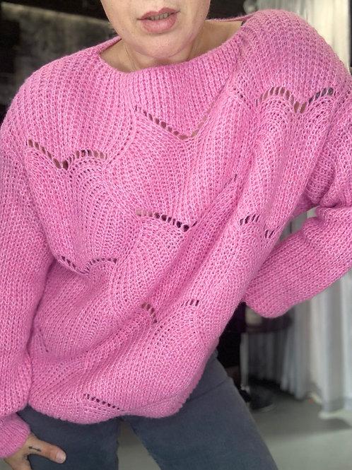SCALLOP knit