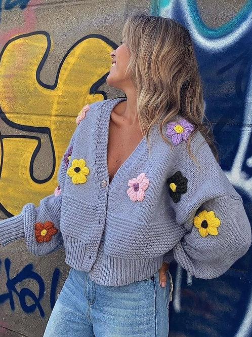 FLOWER POWER cardigan