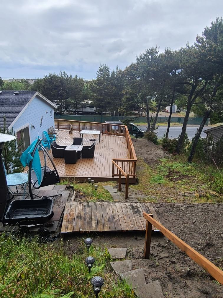 Top view deck replacement