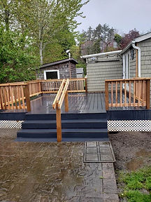 Beautiful new deck