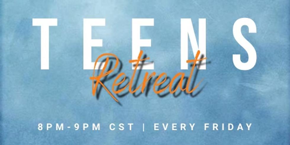 Weekly Teens Online Retreat