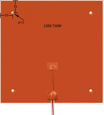 Bed silicone 220V 750W