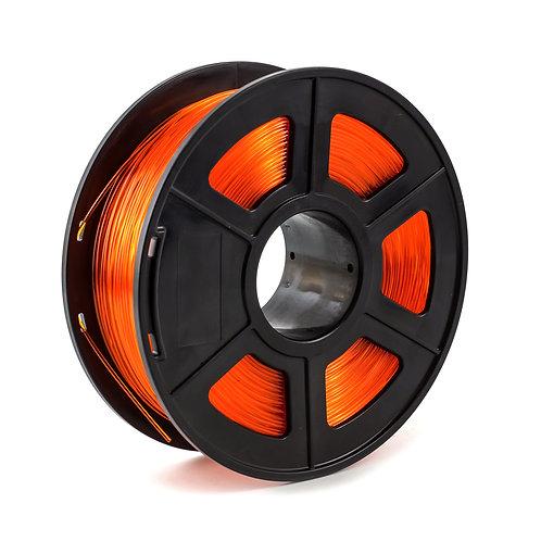 PETG transparent orange 1.75 mm