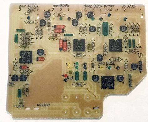 PCB Diesel VH4 (2PDT intégré)