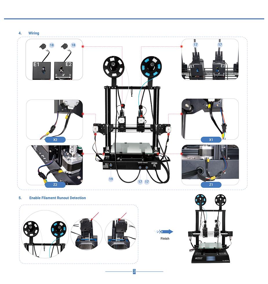 Tenlog TL-D3 Pro DMP 3D Printer Manual (