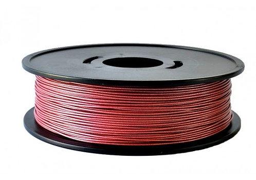 PLA rouge métallisé