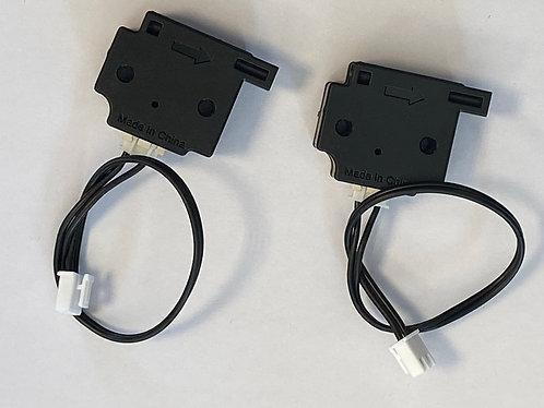 Détecteurs de fin de filament avec câbles