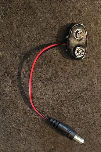 Battery snap holder (avec prise 2,5 mm)