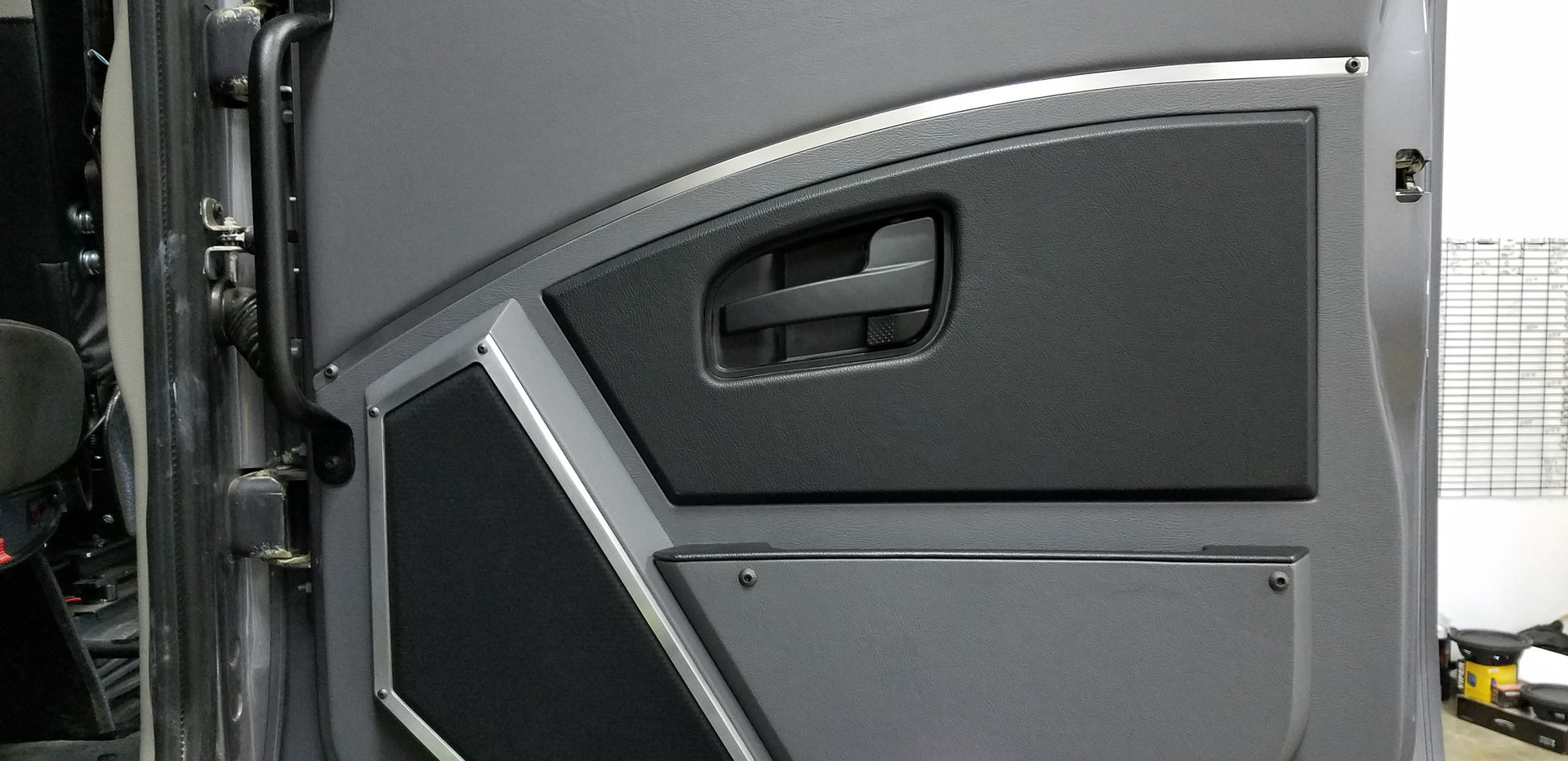 Finished Custom Door Panel