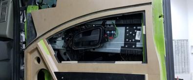 Custom Door Panel Mock Up