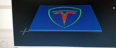 CAD Design of Enclosure Top