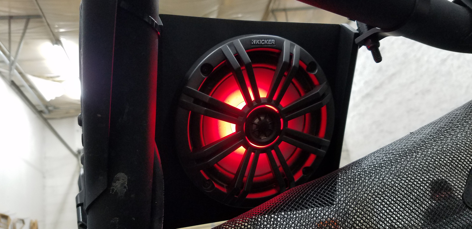 Custom Speaker Pod With lighted Speaker