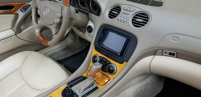 After Market Stereo with factory look while maintaining factory cup holders