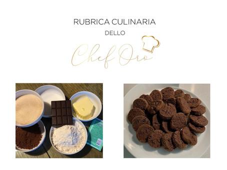 Sablè al cioccolato e sale Maldon