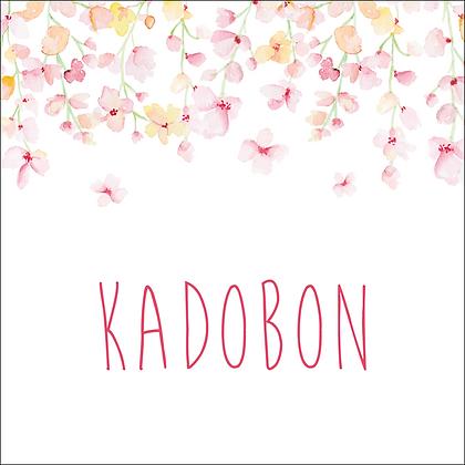 Vierkante kadobon - Vbon 81