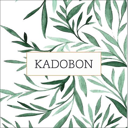 Vierkante kadobon - Vbon 24