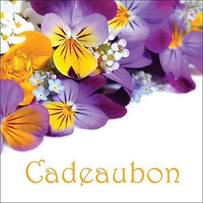 Vierkante kadobon - Vbon 50