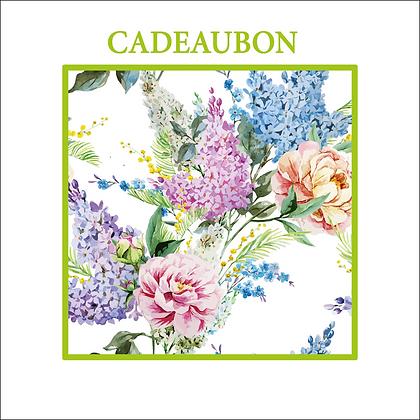 Vierkante kadobon - Vbon 75