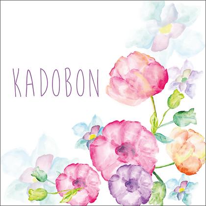 Vierkante kadobon - Vbon 83