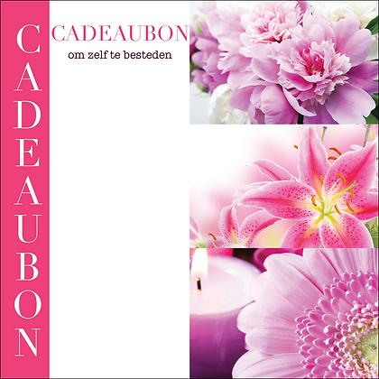 Vierkante kadobon - Vbon 01