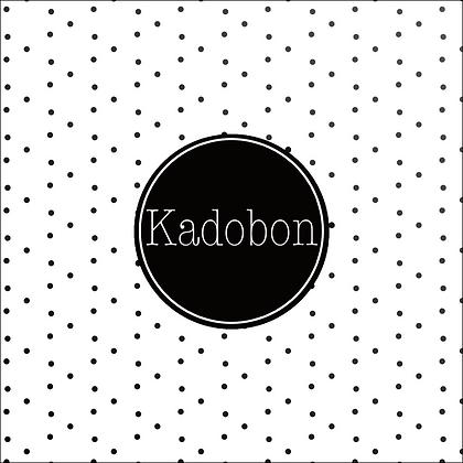 Vierkante kadobon - Vbon 08