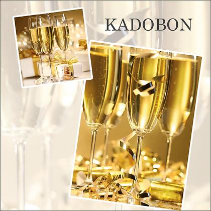 Vierkante kadobon - Vbon 87
