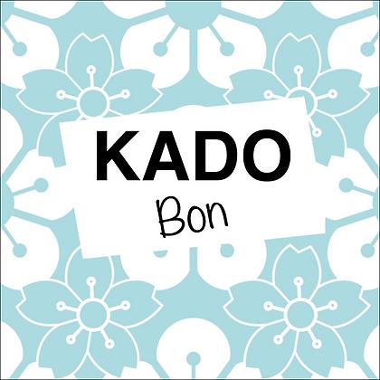 Vierkante kadobon - Vbon 09
