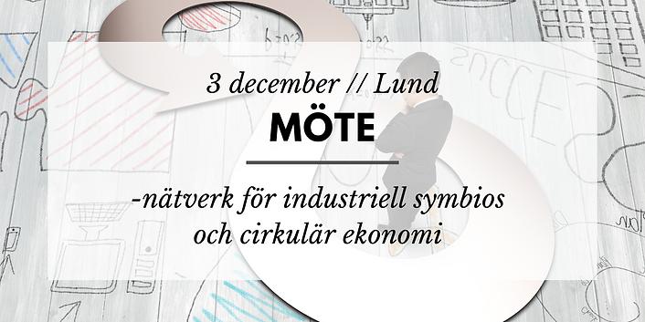 Möte // Nätverk för industriell symbios och cirkulär ekonomi