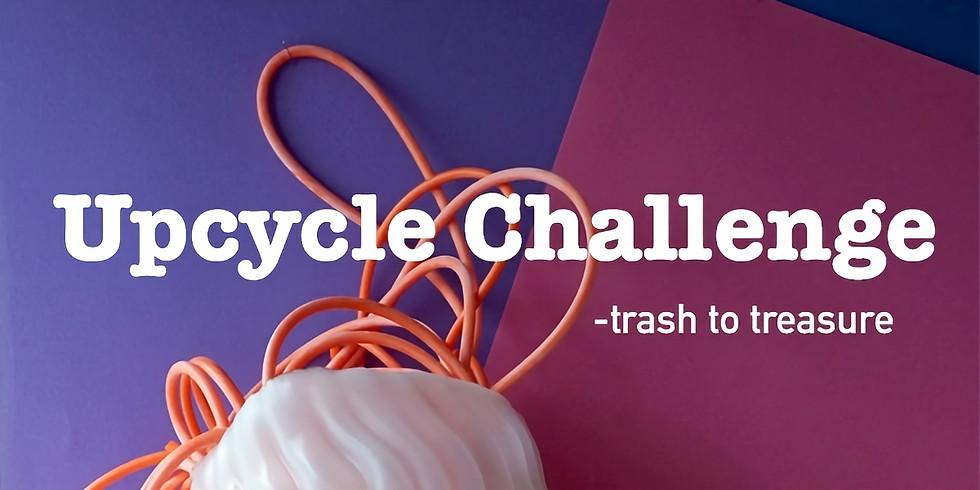 Final i återbrukstävlingen Upcycle Challenge - trash to treasure