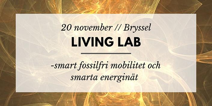 Living Lab // Energi och fossilfri mobilitet