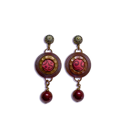 Earrings Rose