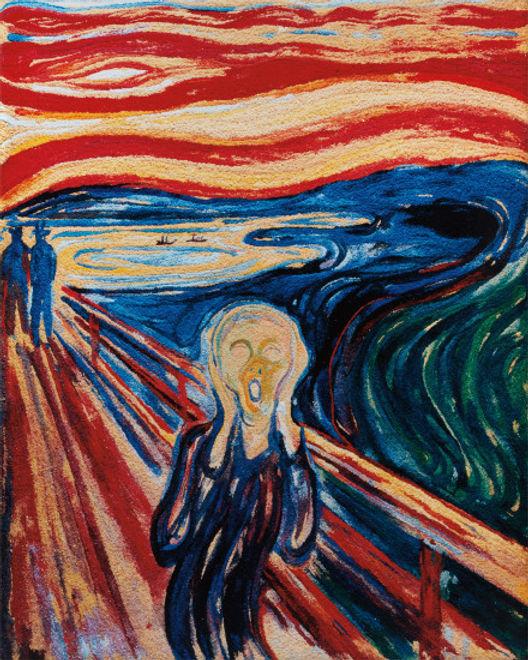 Vik Muniz The Scream After Edvard Munch 2006