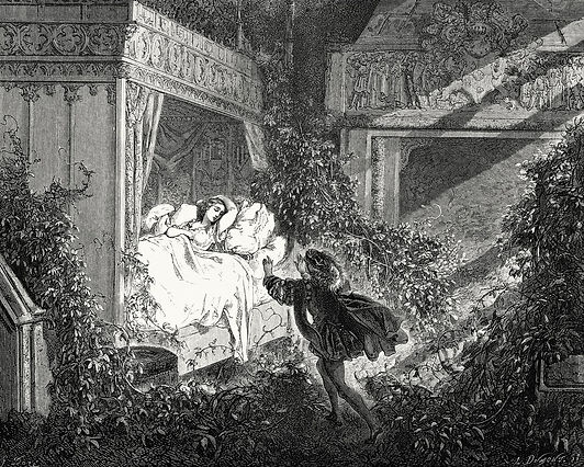 Gustave Doré La Belle aux Bois Dormants