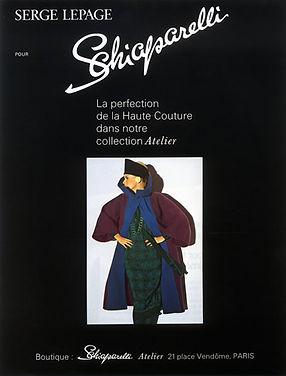 Serge Lepage for Schiaparelli 1979