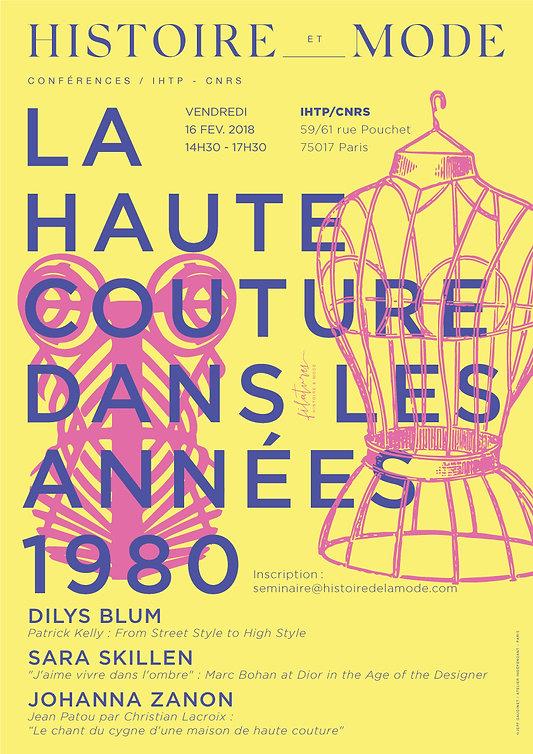La Haute Couture dans les années 1980