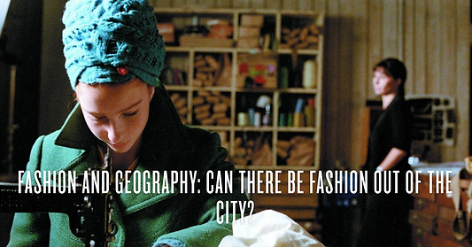 Fashion and Geography