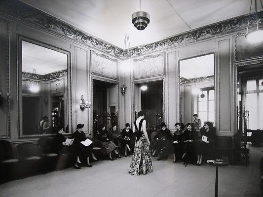 Jean Patou couture salons 1935