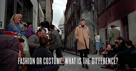 Fashion or Costume